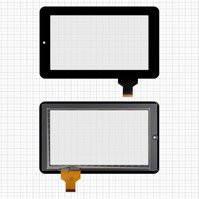 """Сенсорный экран для планшетов China-Tablet PC 7""""; Onda V701s, V702, V711; Texet TM-7024; Explay Surfer 7.02, Surfer 7.04, 7"""", 30 pin, емкостный,"""