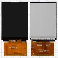 Дисплей для мобильных телефонов Fly DS124, DS125, MC131, стекло, 39 pin, #FPC2601-2