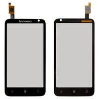 Сенсорный экран для мобильного телефона Lenovo S720, черный