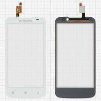 Сенсорный экран для мобильного телефона Lenovo A516, белый