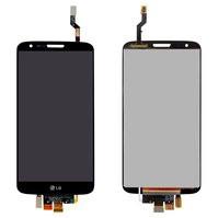 Дисплей для мобильных телефонов LG G2 D802, G2 D805, черный, с сенсорн