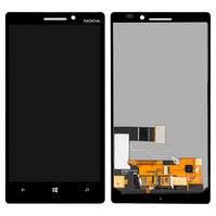 Дисплей для мобильного телефона Nokia 930 Lumia, черный, с сенсорным экраном