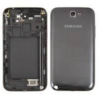Корпус для мобильного телефона Samsung N7100 Note 2, серый