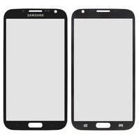 Стекло корпуса для мобильного телефона Samsung N7100 Note 2, серое