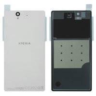 Задняя панель корпуса для мобильных телефонов Sony C6602 L36h Xperia Z, C6603 L36i Xperia Z, C6606 L36a Xperia Z, белая