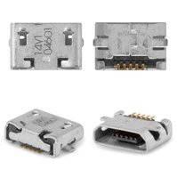 Коннектор зарядки для мобильных телефонов Nokia 207, 208, 220 Dual SIM, 230 Dual Sim, 500 Asha Dual Sim, 503 Asha Dual Sim, 710 Lumia, 5 pin,