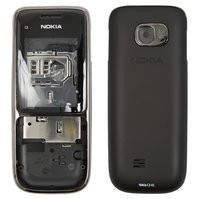 Корпус для мобильного телефона Nokia C2-01, high-copy, черный