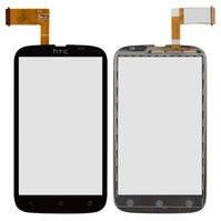 Сенсорный экран для мобильного телефона HTC T328w Desire V, черный