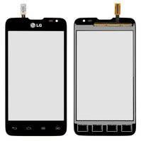 Сенсорный экран для мобильного телефона LG D285 Optimus L65 Dual SIM, черный, (124.5*63 mm)