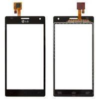 Сенсорный экран для мобильного телефона LG P880 Optimus 4X HD, черный