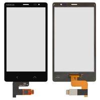Сенсорный экран для мобильного телефона Nokia X2 Dual Sim, черный