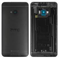 Задняя панель корпуса для мобильного телефона HTC One M7 801e, черная
