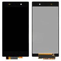 Дисплей для мобильных телефонов Sony C6902 L39h Xperia Z1, C6903 Xperia Z1, C6906 Xperia Z1, C6943 Xperia Z1, черный, с сенсорным экраном, original