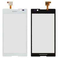 Сенсорный экран для мобильного телефона Sony C2305 S39h Xperia C, белы