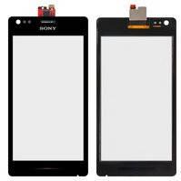 Сенсорный экран для мобильных телефонов Sony C1904 Xperia M, C1905 Xperia M, C2004 Xperia M Dual, C2005 Xperia M Dual, черный