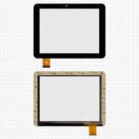 """Сенсорный экран для планшетов China-Tablet PC 8""""; Pixus Play Four, 8"""", 40 pin, емкостный, черный, (197*150 мм), #PINGBO PB80DR8286/E-C8020-02"""