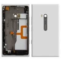 Корпус для мобильного телефона Nokia 900 Lumia, белый, high-copy