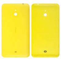 Задняя панель корпуса для мобильного телефона Nokia 1320 Lumia, желтая, с боковыми кнопками