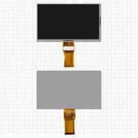"""Дисплей для планшета China-Tablet PC 7"""", 7"""", (1024*600), (164*97 мм), шлейф 65 мм, 50 pin, #7300101466/XC070XY/E231732/E242868"""