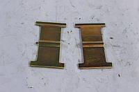 Пластина (пружина) передних тормозных колодок Заз 1102