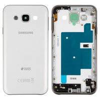 Корпус для мобильного телефона Samsung E500H/DS Galaxy E5, белый, с боковыми кнопками
