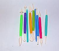 Набор ножиков (стеков) для мастики 9пред., фото 1