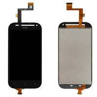 Дисплей для мобильных телефонов HTC C520e One SV, T528t One SV, черный, с сенсорным экраном