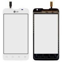Сенсорный экран для мобильного телефона LG D285 Optimus L65 Dual SIM, белый