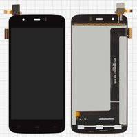 Дисплей для мобильного телефона Fly IQ4414 Quad, черный, с сенсорным экраном, 39 pin, #FPC-S90601-1 V01