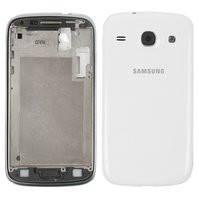 Корпус для мобильных телефонов Samsung I8260 Galaxy Core, I8262 Galaxy Core, белый