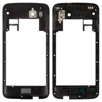 Задняя панель корпуса для мобильного телефона Fly IQ4411, черная, original, с антеной, #170700843
