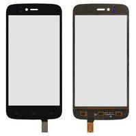 Сенсорный экран для мобильного телефона Fly IQ4411, original, черный, #166100237