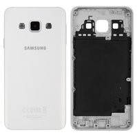 Задняя панель корпуса для мобильных телефонов Samsung A300F Galaxy A3, A300FU Galaxy A3, A300H Galaxy A3, белая