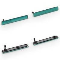 Боковая заглушка для мобильных телефонов Sony D5803 Xperia Z3 Compact Mini, D5833 Xperia Z3 Compact Mini, полный комплект, зеленая