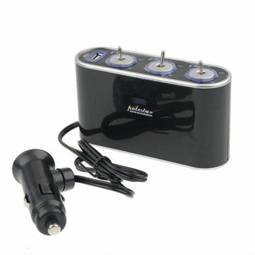 Тройник  WF-0306 для прикуривателя с USB-портом