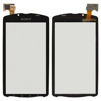 Сенсорный экран для мобильного телефона Sony MT25 Xperia Neo L, черный