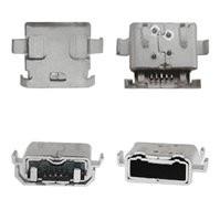 Коннектор зарядки для мобильных телефонов Sony Ericsson LT30p Xperia T; Sony MT27i Xperia Sola, 5 pin, micro-USB тип-B
