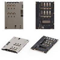 Коннектор SIM-карты для мобильных телефонов Huawei U9200 Ascend P1; Sony ST25i Xperia U