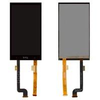 Дисплей для мобильных телефонов HTC Desire 601, Desire 601 Dual SIM, черный, с сенсорным экраном