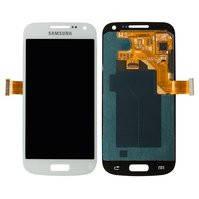 Дисплей для мобильных телефонов Samsung I9190 Galaxy S4 mini, I9192 Galaxy S4 Mini Duos, I9195 Galaxy S4 mini, белый, с сенсорным экраном, original