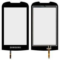 Сенсорный экран для мобильного телефона Samsung S5560, черный