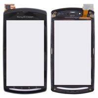 Сенсорный экран Sony Ericsson R800, Z1, с передней панелью, черный
