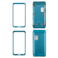 Корпус для мобильного телефона Nokia E7-00, high-copy, синий