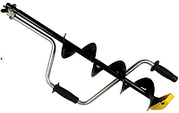 Ледобур АйДабур (iDabur) стандарт 130мм кованные ножи (в коробке)