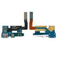 Шлейф для мобильного телефона Samsung N7100 Note 2, микрофона, коннектора зарядки, с компонентами
