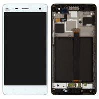 Дисплей для мобильного телефона Xiaomi Mi4, белый, с сенсорным экраном