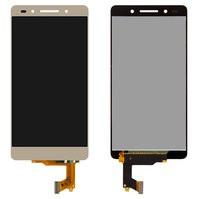 Дисплей для мобильного телефона Huawei Honor 7, золотистый, с сенсорны