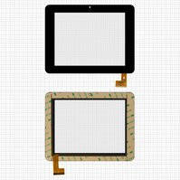 "Сенсорный экран для планшетов China-Tablet PC 8""; Sanei N83; Ampe A85, 8"", 50 pin, емкостный, черный, (208*160 мм), #TPC0532 VER3.0"