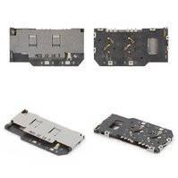 Коннектор SIM-карты для мобильного телефона Sony ST27i Xperia Go
