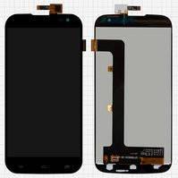 Дисплей для мобильных телефонов BLU D650 Studio 6.0, D651L Studio 6.0 HD, D651U Studio 6.0 HD; Gigabyte GSmart Saga S3, черный, с сенсорным экраном,
